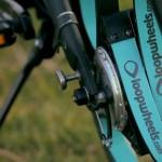 велосипед с подвеской на колесах