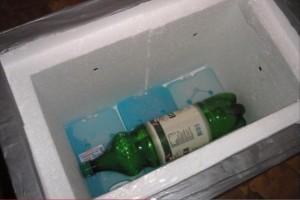Холодильник с аккумулятором холода