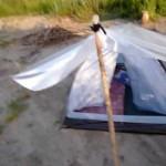 Защита палатки от дождя