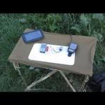Как сделать походный столик