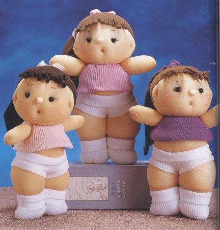 кукла из чулков