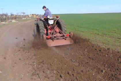 фреза для почвы