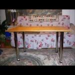 Самодельный кухонный стол