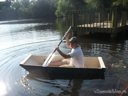Лодка из фанеры сделать своими руками