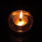Масляный светильник с плавающим фитильком