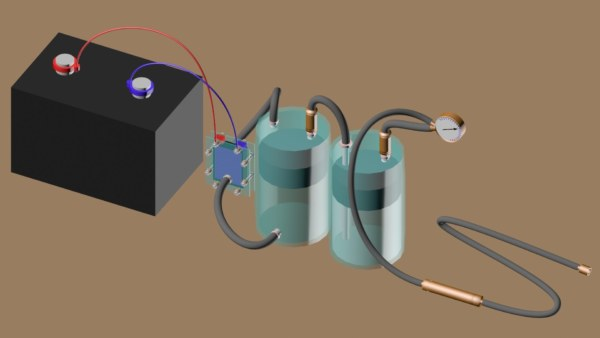 Электрогенератор своими руками на водороде