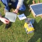 Фонтан с водяным насосом для сада на солнечной батарее
