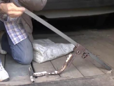 чудо-лопата на видео