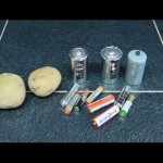 Как восстановить заряд батарейки в походе вареной картошкой?