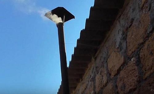 печь на отработанном масле из радиатора