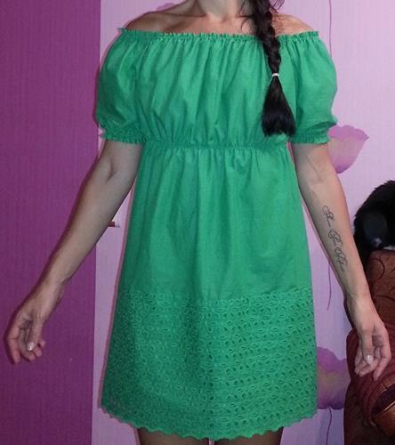 Платья крестьянка фасон