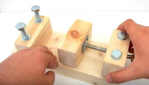 деревянные тиски своими руками