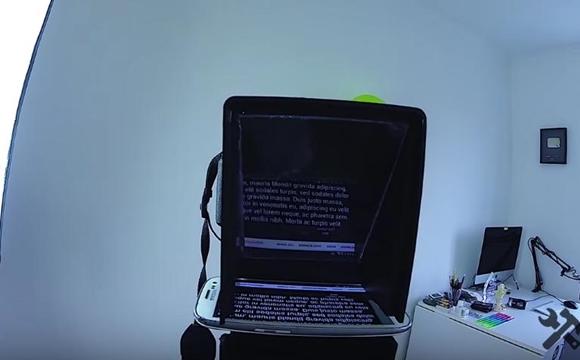 самодельный телесуфлер