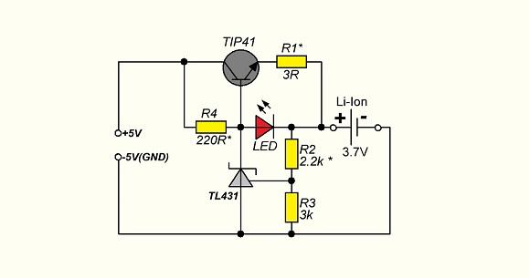 Зарядное устройство для аккумуляторов от 12в схема