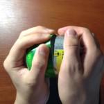 Маленькая конфорка для спирта из алюминиевых баночек