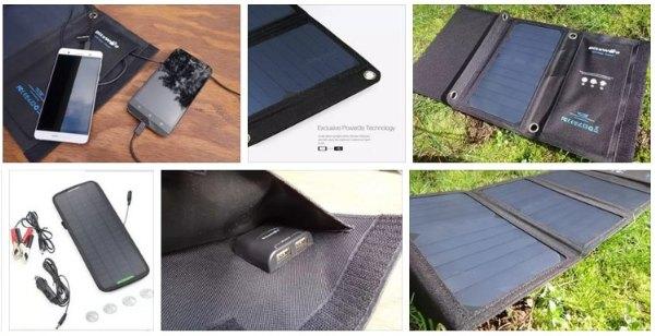 20W 3A Foldable Portable SunPower Solar