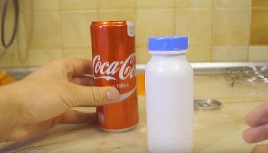 Тайник из кока-колы