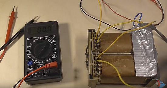 Проверка обмоток трансформатора