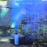 синяя дымовушка
