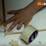 Как сделать рамку из рейки