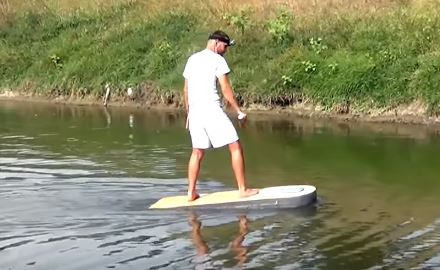 Серфинг доска с мотором своими руками