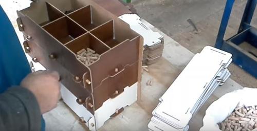 ящик из хдф