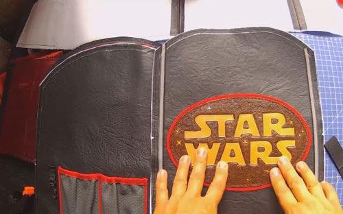 школьный рюкзак своими руками