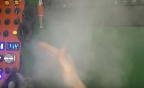 Как сделать жидкость для дым машины своими руками 86