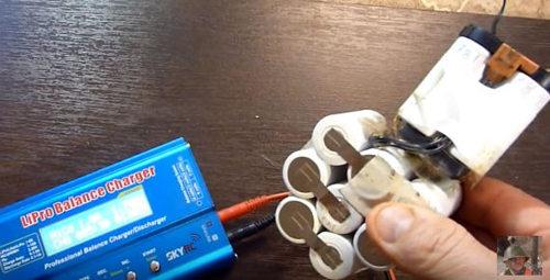 Как восстановить никель кадмиевый аккумулятор шуруповерта