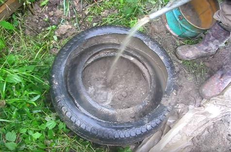 фундамент бани в болотистой местности