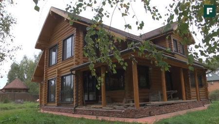 дом из цельного бревна