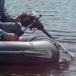 мотор для лодки их бензокосы