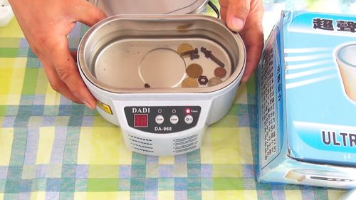 как пользоваться ультразвуковой ванной