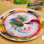 Разноцветные разводы Маргони