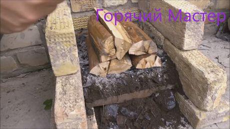 заставить дрова гореть долго