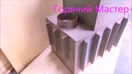 виды самодельных печей для бани