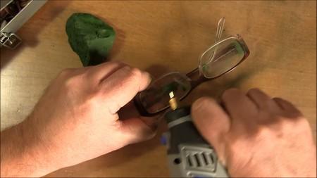 Как отшлифовать пластиковые очки своими руками 84