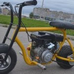 мини мотоцикл на бензине
