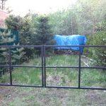 сварка железных ворот