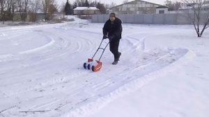 Чудо лопата для снега со шнеком своими руками