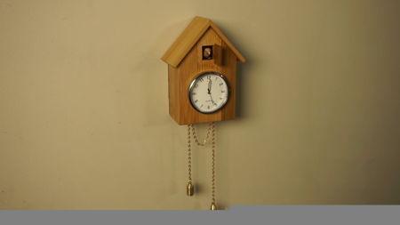 самодельные часы с кукушкой