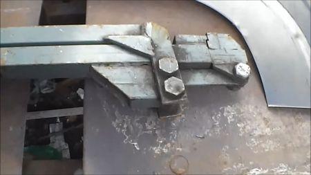 Ручной кромкогиб для авторемонта