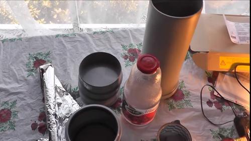 Как сделать термос из бутылки
