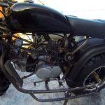 Полноприводный мотоцикл сделан руками