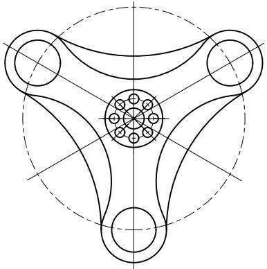 Спиннер Металлический Spinner Игрушка 7383461