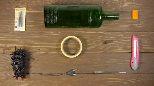 Как просверлить отверстие в стеклянной бутылке