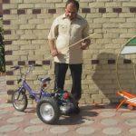 детский велосипед с коляской
