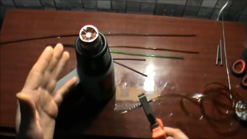 трубочки из лент от пвх бутылок