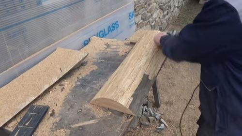 поднос ручной работы из дерева