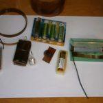 Как сделать отсек для батареек